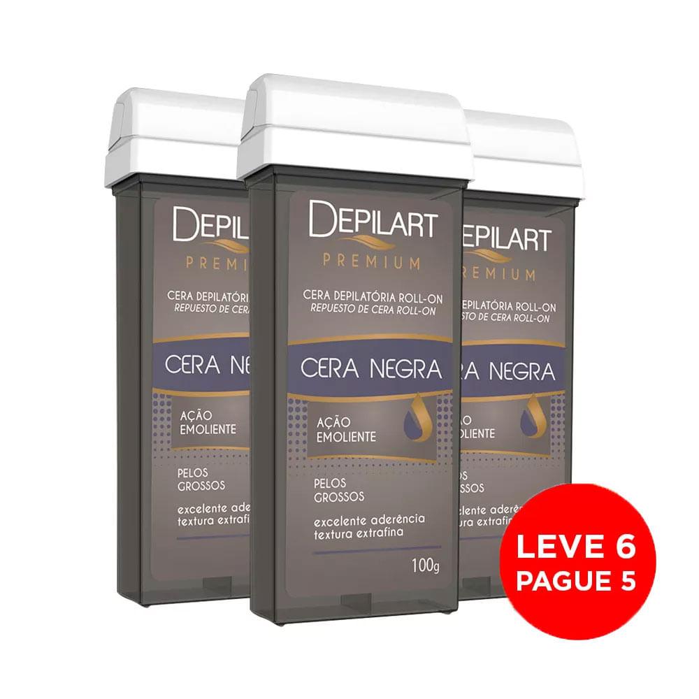 Kit-Depilart-Cera-Premium-Refil-Negra-100g-Leve-6-Pague-5