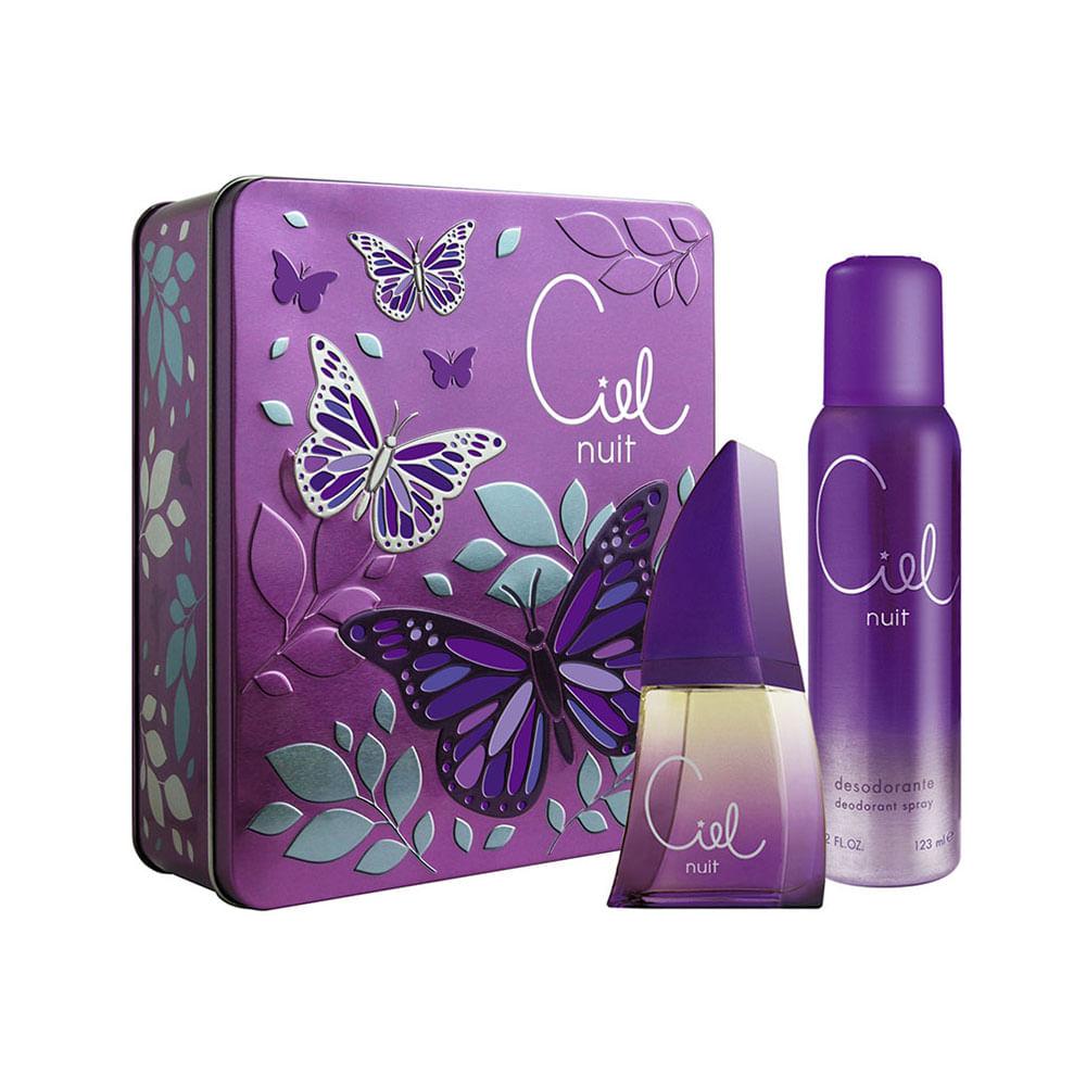 Kit-Golden-Dreams-Perfume-Deo-Colonia-Ciel-Nuit-50ml---Desodorante-250ml---Estojo---Femme
