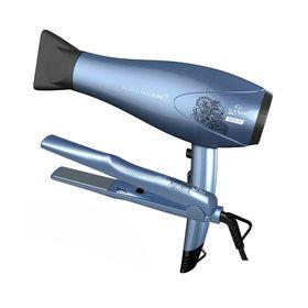 Kit-Gama-Secador-Beauty-Pro-Ion-110v---Chapa-Bivolt