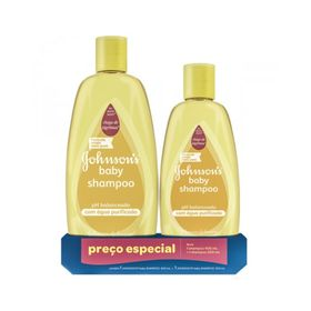 Kit-Johnsons-Baby-Shampoo-400---Shampoo-Tradicional-200ml