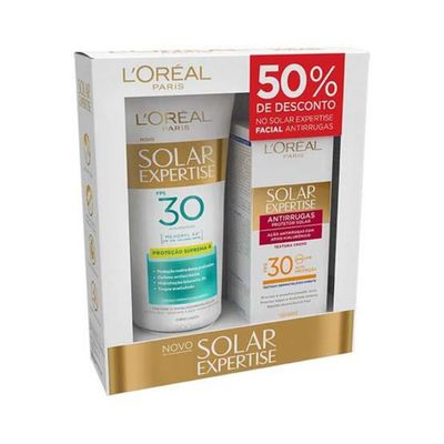 Kit-Protetor-Corporal-Solar-L-Oreal-Paris-Expertise-Supreme-Protect-4-FPS-30-200ml---Protetor-Facial-Solar-Expertise-Antirrugas-FPS-30