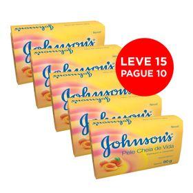 Leve-15-Pague-10-Sabonete-Johnson---Johnson-Pele-Cheia-de-Vida-90G
