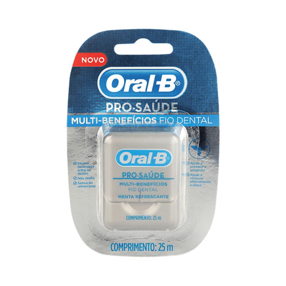 721259bb8 Fio Dental Oral-B Pro-Saúde Multi-Benefícios - 25m