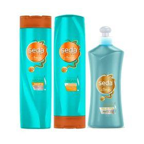Kit-Seda-Bomba-de-Argan-Shampoo-325ml-Condicionador-325ml-Creme-de-Pentear-300ml