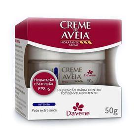Creme-de-Aveia-Davene-Facial-Intesa-FPS15-50g
