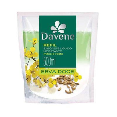 Sabonete-Liquido-Hidratante-Davene-Refil-Erva-Doce-500ml