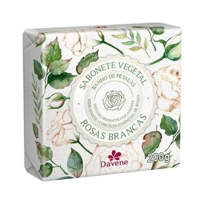 Sabonete-Vegetal-Davene-Rosas-Brancas-200g