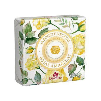 Sabonete-Vegetal-Davene-Rosas-Amarelas-200g