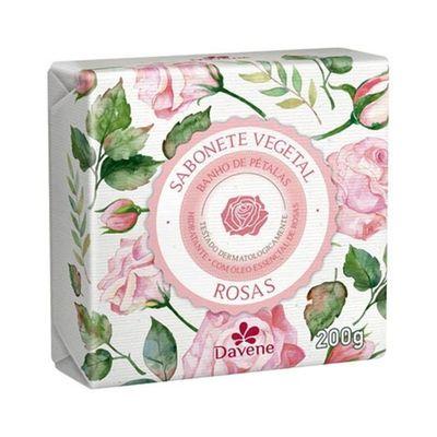Sabonete-Vegetal-Davene-Rosas-200g