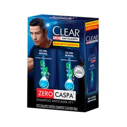 Kit-Shampoo-Clear-Men-Ice-Cool-Menthol-200ml---Desconto-Especial-c-2-un