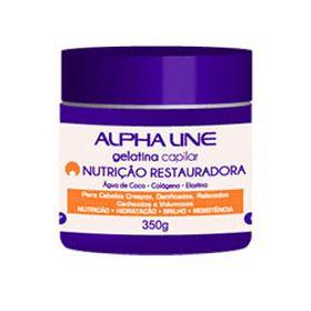 Gelatina-Capilar-Alpha-Line-Nutricao-Restauradora-350ml