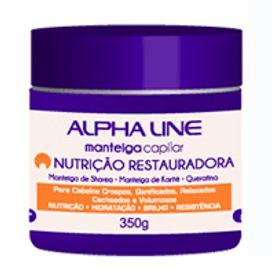 Manteiga-Capilar-Alpha-Line-Nutricao-Restauradora-350g