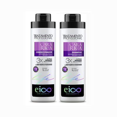 Kit-Cara-de-Rica-Condicionador-Eico-Life-1L