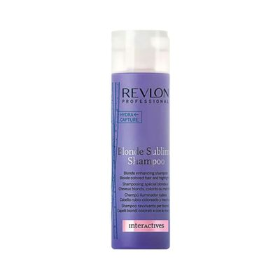 Shampoo-Revlon-Professional-Interactives-Blonde-Sublime-250ml