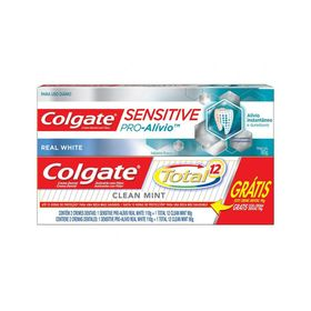 Creme-Dental-Colgate-Pro-Alivio-110g-Gratis-Creme-Dental-Colgate-Total-12-Clean-Mint-90g