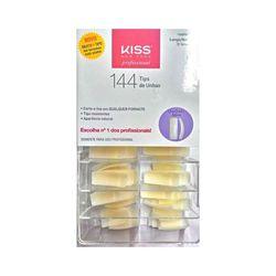 Unhas-Posticas-First-Kiss-Tips-Quadrado-Ativo-Com-144-Unidades