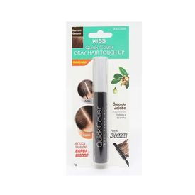 Retoque-De-Raiz-Kiss-New-York-Gray-Hair-Touch-Up-Marrom-Escuro