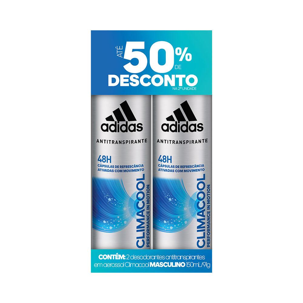 Desodorante-Adidas-Aerosol-Climacool-Masculino-50--de-Desconto-na-2-Unidade