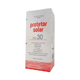 Protetor-Solar-Facial-Skincience-Toque-Seco-FPS30-60g