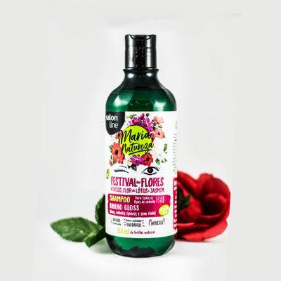 Resultado de imagem para shampoo maria natureza festival de flores