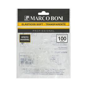 Elastico-Marco-Boni-Soft-Transparente-com-100-unidades