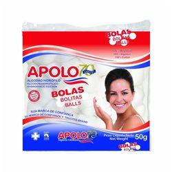Bolas-de-Algodao-Apolo-50g
