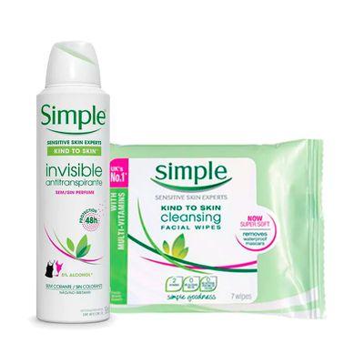Compre-Desodorante-Aerosol-Simple-Invisible-89g-Ganhe-Lenco-de-Limpeza-Simple-7-Unidades