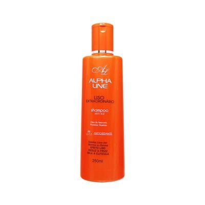 Shampoo-Alpha-Line-Liso-Extraordinario-250ml