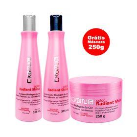 Compre-C.Kamura-Color-Radiant-Shine-Shampoo-315ml---Condicionador-315ml-Ganhe-Mascara-250g
