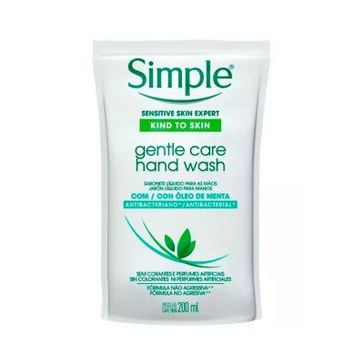 Sabonete-Liquido-Refil-Simple-Antibacteriano-Para-Maos-Gentle-Care-250ml-21325.00