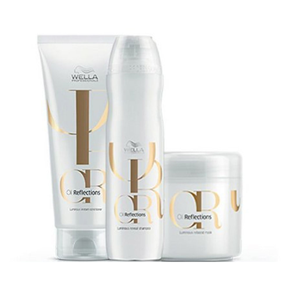 Kit-Wella-Professionals-Oil-Reflections-Shampoo-250ml---Condicionador-200ml---Mascara-150ml