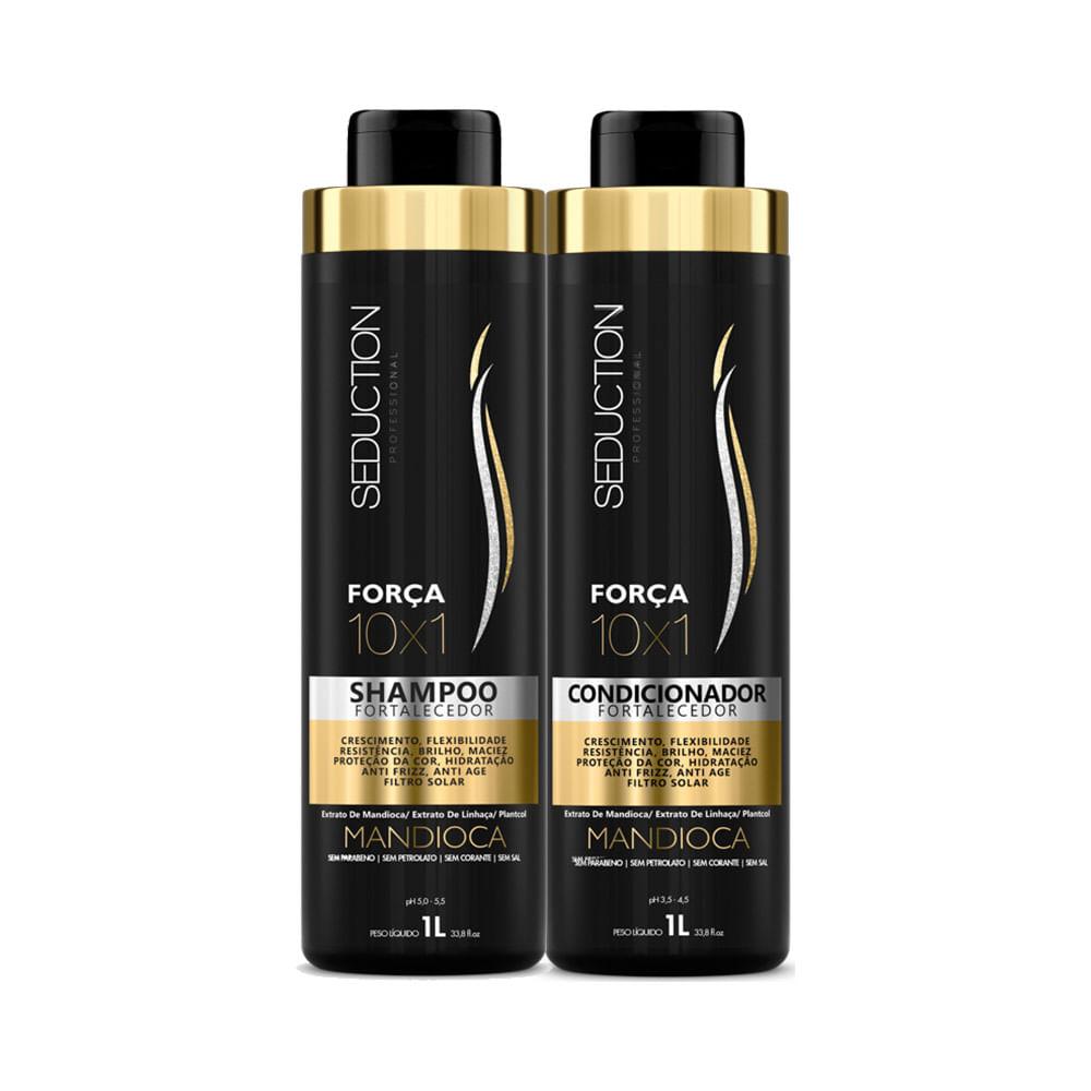 Kit-Seduction-10X1-Forca-Shampoo---Condicionador-Mandioca-1000ml