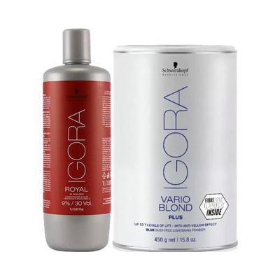 Kit-Igora-Po-Descolorante-Vario-Blond-Plus-450g-Gratis-Oxigenta-30-Volumes-1000ml