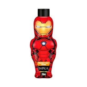 Shampoo-Impala-Avangers-2X1-Homem-De-Ferro-250ml