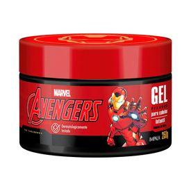 Gel-Fixador-Impala-Infantil-Avengers-Homem-De-Ferro-250gr