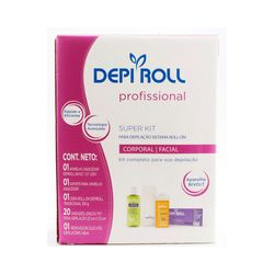 Super-Kit-Depilacao-Cera-Sistema-Roll-on-Depi-Roll---Bivolt