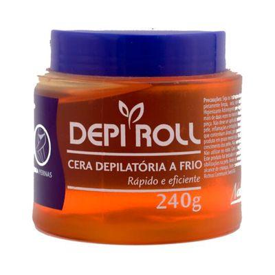 Cera-Fria-Depi-Roll-Pote-240G-Amarelo-Mel