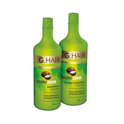 Kit-G-Hair-Shampoo---Condicionador-Quero-Coco-1000ml