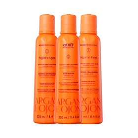 Kit-Richee-Shampoo---Ativo---Mascara-Argan-e-Ojon-250ml