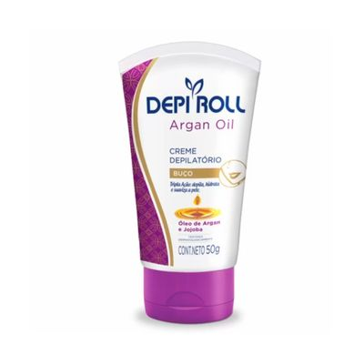 Creme-Depi-Roll-Depilatorio-para-Buco-Argan-Oil-50g