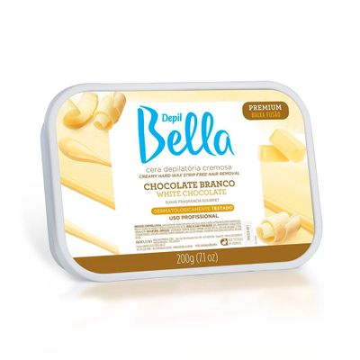 Cera-Depil-Bella-Chocolate-Branco-200g