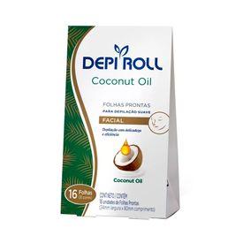 Folhas-Prontas-DepiRoll--Facial-Com-16-Coconut