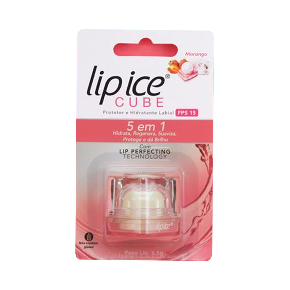 Protetor-Labial-Lip-Ice-Cube-Morango-6.5g-10048.05