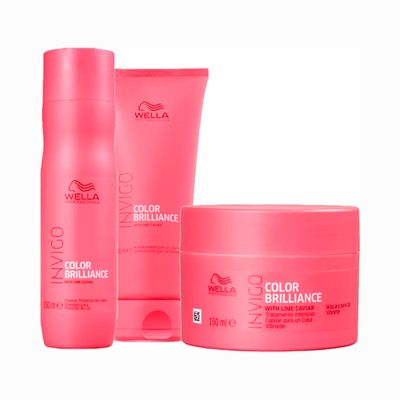 Kit-Wella-Invigo-Shampoo---Condicionaor-250ml-Gratis-Mascara-Brilliance-150ml