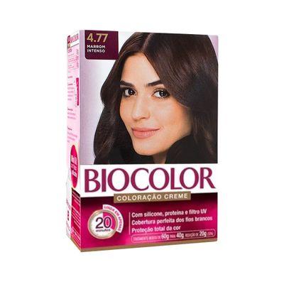 Coloracao-Biocolor-Kit-Creme-4.77-Marrom-Escuro-Intenso