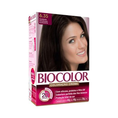 Coloracao-Biocolor-Kit-Creme-6.35-Marrom-Dourado-Elegante