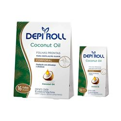 Kit-Folhas-Prontas-DepilRoll-Com-16-Coconut-Gratis-Folhas-Prontas-DepiRoll-Facial-Com-16-Coconut-30039