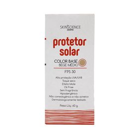 Protetor-Solar-Facial-Skinscience-FPS-30-Color-Base-Bege-Medio-60g-39188.00