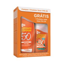 Kit-Protetor-Solar-Cenoura---Bronze-FPS-50-200ml---Gratis-Protetor-Kids-110ml-FPS-30-32145.00