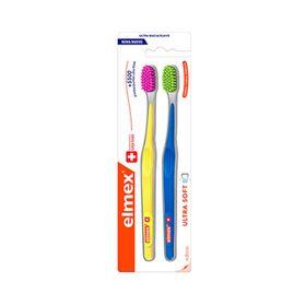 Kit-Escovas-de-Dentes-Ultra-Soft-Elmex-2-Unidades